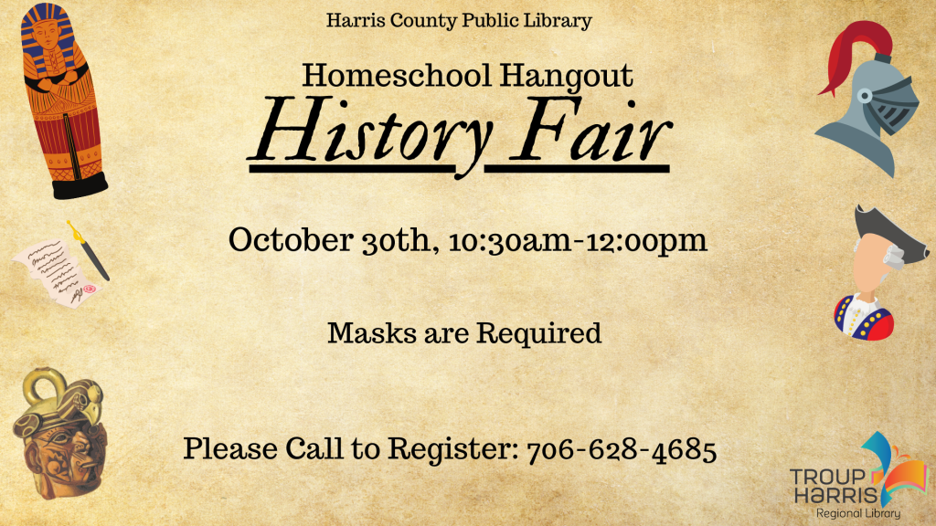 Homeschool Hangout- History Fair