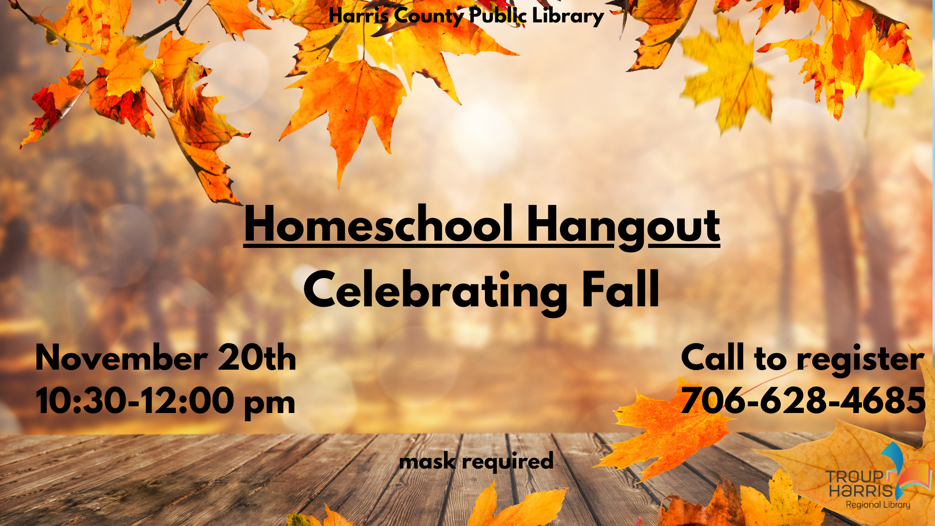Homeschool Hangout - Celebrating Fall