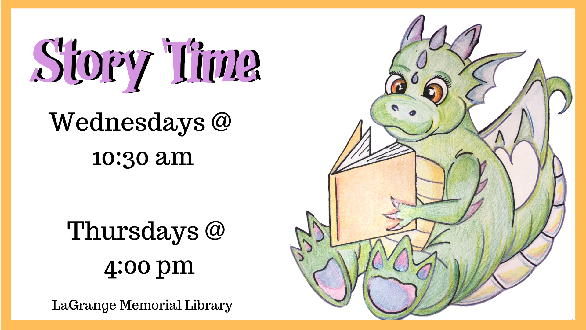 Story Time at LaGrange Memorial Library
