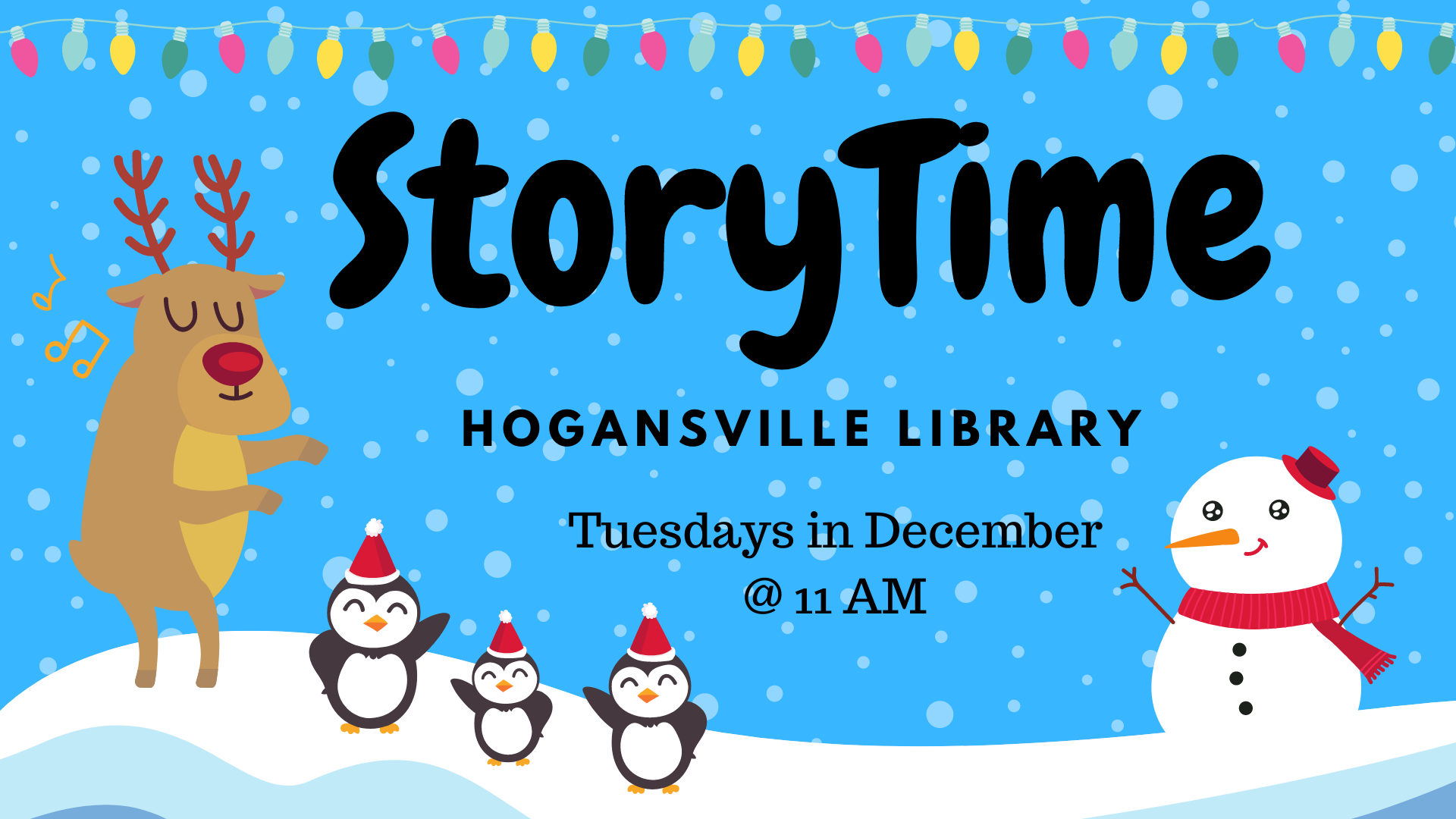 Story Time at the Hogansville Public Library.