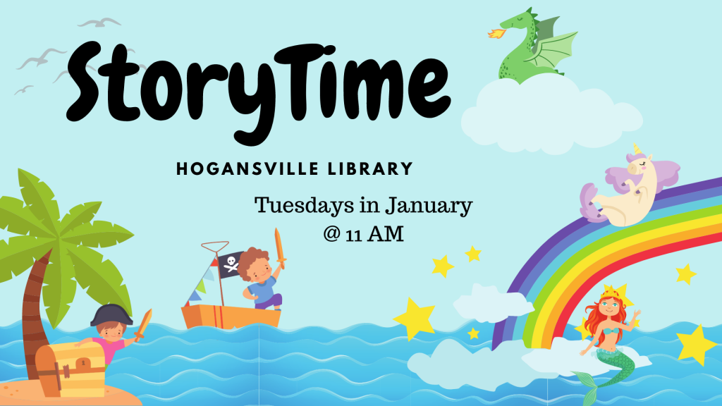 Story Time at the Hogansville Public Library
