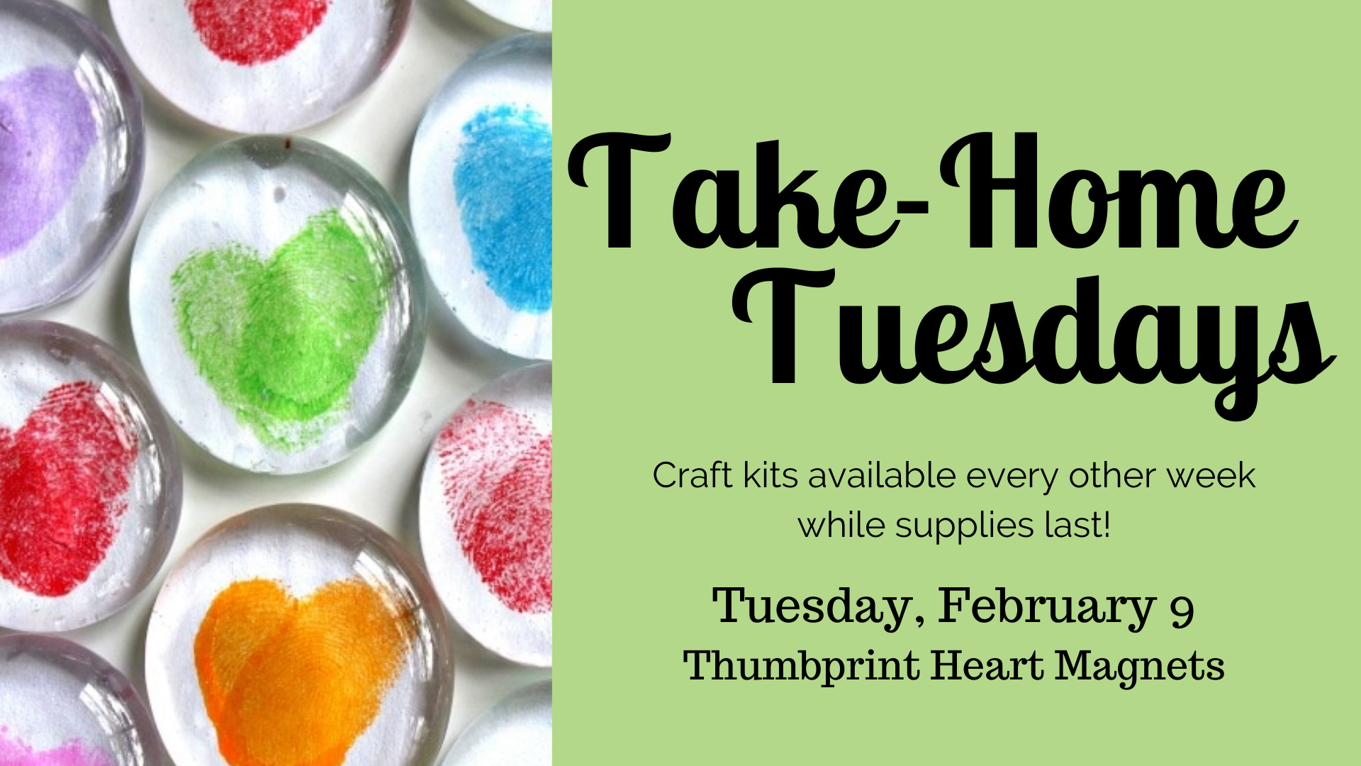 Take Home Tuesdays: Thumbprint Magnet