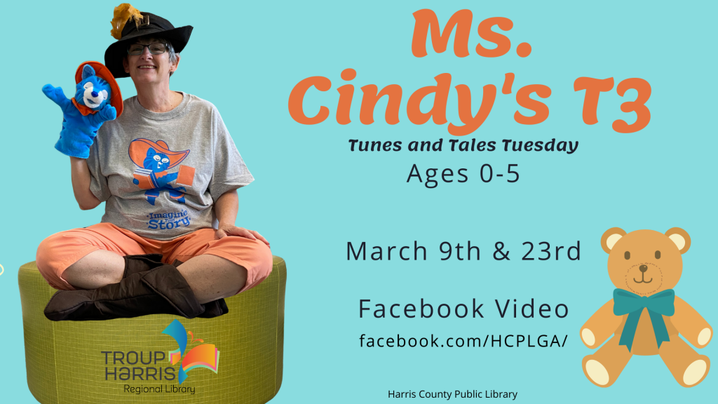 Ms. Cindy's T3 Story Time