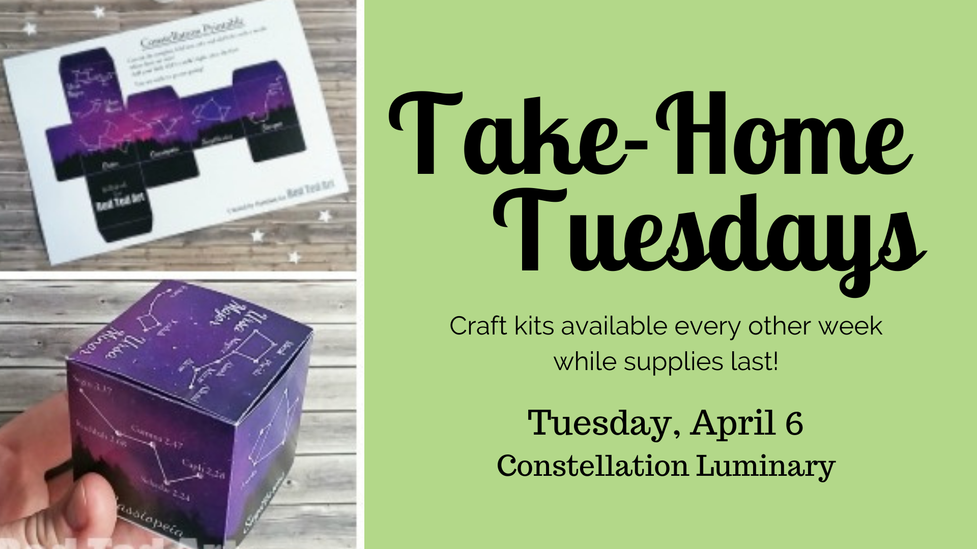 Take Home Tuesdays