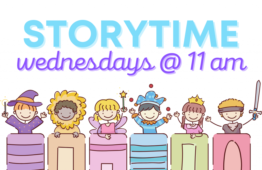 Storytime Wednesdays at 11 at the LaGrange Memorial Library