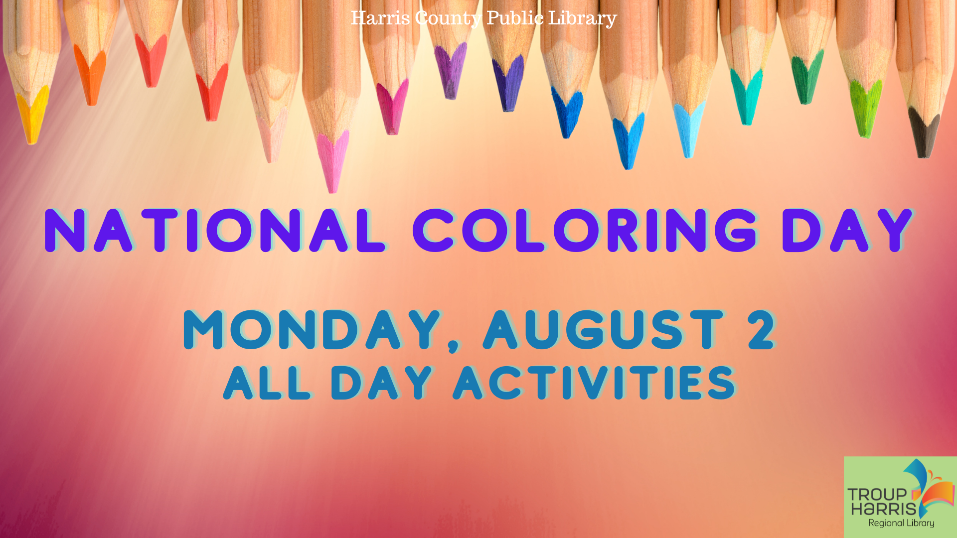 National Coloring Day August 2